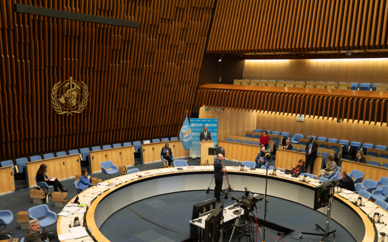 Intervention on AMR at the 148th session of the Executive Board