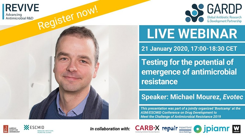 Webinar: Testing for the potential of emergence of antimicrobial resistance