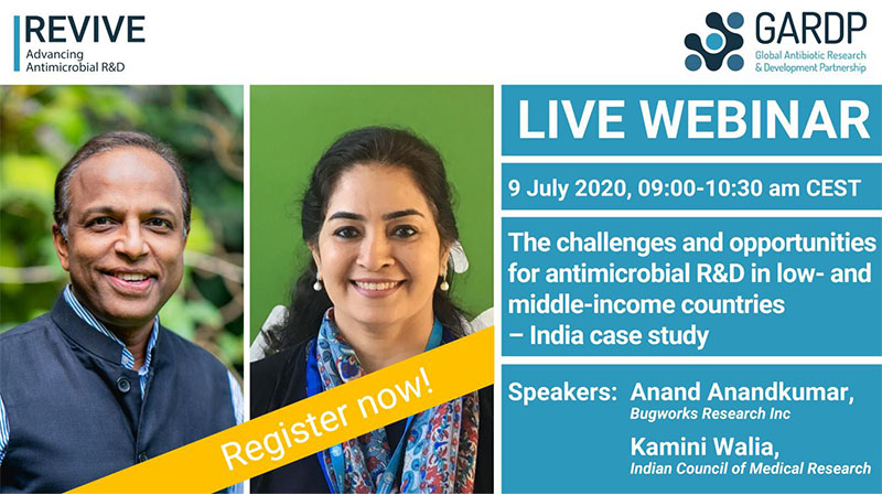 Webinar: The challenges and opportunities for antimicrobial R&D in low- and middle-income countries – India case study