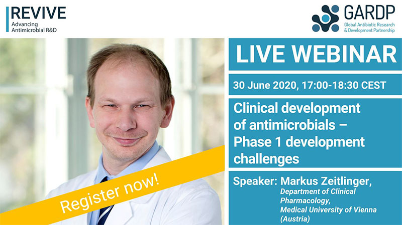 Webinar: Clinical development of antimicrobials – Phase 1 development challenges