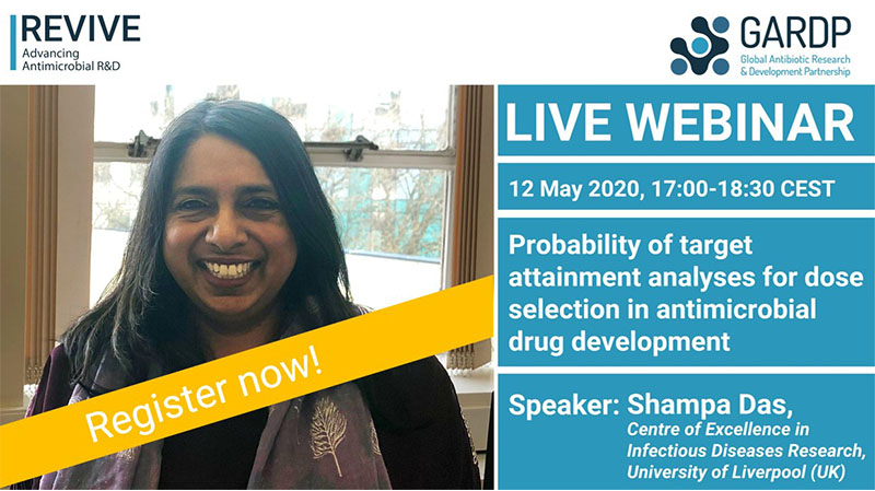 Webinar: Probability of target attainment analyses for dose selection in antimicrobial drug development