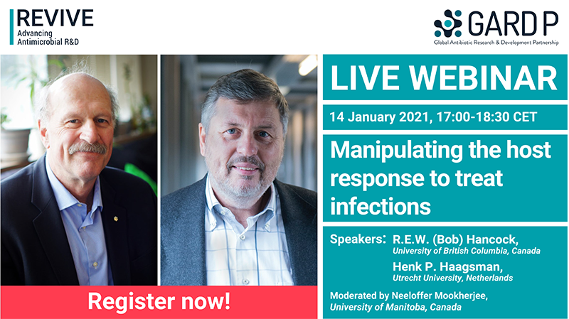 Webinar: Manipulating the host response to treat infections