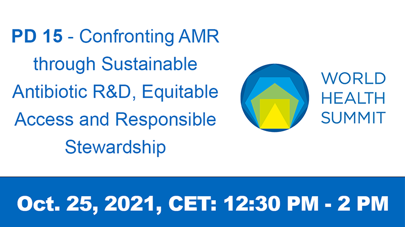 PD 15 - Confronting AMR through Sustainable Antibiotic R&D, Equitable Access and Responsible Stewardship